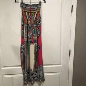 Flying Tomato maxi dress with tie